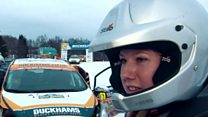 Tough road ahead for female rally driver