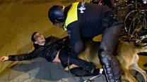 الشرطة الهولندية تفرق بالقوة آلاف المتظاهرين الأتراك