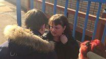 Близкие встречают Оксану Севастиди из тюрьмы