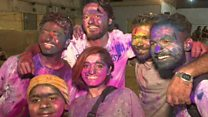 Hindus celebrate festival of colour