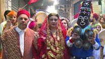 """""""مهرجان الخربة"""": أزياء تونسية تقليدية في شوارع العاصمة"""