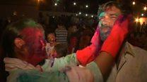 Индуистский фестиваль Холи: праздник ярких красок