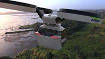 La cápsula de pasajeros voladora que se convierte en auto