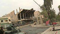 تنگ تر شدن حلقه محاصره در آخرین سنگر داعش در عراق