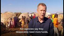 ソマリアの町を苦しめる2つの敵――内戦と干ばつ