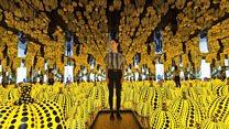Las fascinantes habitaciones infinitas de la artista japonesa Yayoi Kusama