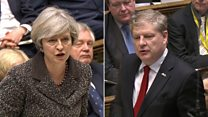 PM and SNP clash in Commons over Brexit