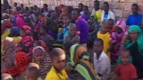 अकाल के चलते  दो करोड़ लोगों की ज़िंदगी ख़तरे में