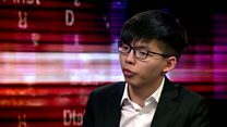 Hong Kong activist optimistic for democracy