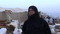 كيف يعيش النازحون من الرقة السورية؟