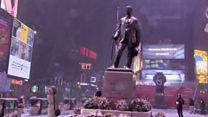 Чрезвычайное положение в Нью-Йорке из-за метели
