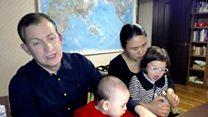 Profesör Kelly ve ailesi bir kez daha BBC'de