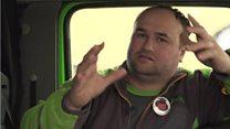 'I feel like a prisoner in my own lorry'