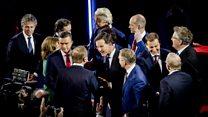 مهاجرت،  در محور انتخابات هلند