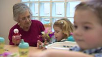 Toddler group joins forces with care home