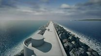 What would £1.3bn tidal lagoon look like?