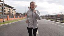 La joven corredora de maratón que sufre hasta 16 ataques epilépticos al día
