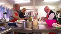 Hospice offers widowers the chance to learn how to cook