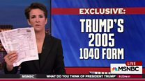 'Trump may have leaked own tax return'