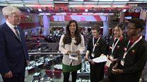 School reporters quiz BBC Director General Tony Hall