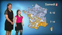 Francesa com síndrome de Down realiza sonho de apresentar previsão de tempo na TV