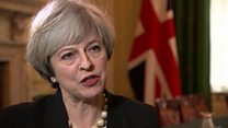 Theresa May: 'Now is not the time' for indyref2