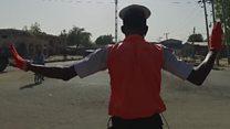 Nigeria's 'Michael Jackson' traffic cop