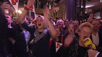 هولنديون يعبرون عن سعادتهم بفوز الليبيراليين