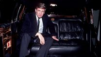 Donald Trump's limo under the hammer