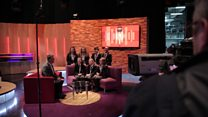 Behind the scenes at School Report Day in BBC NI