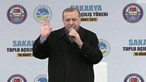 """أردوغان يتهم أوروبا بشنّ """"حرب صليبية"""" على الإسلام"""