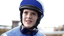 The female jockey breaking records