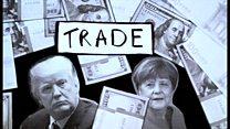 メルケル独首相とトランプ米大統領の初会談 主要テーマは貿易