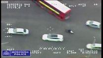 moped heli footage