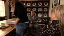 Striker's daughter quits TV interview
