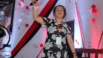 La slameuse algérienne Hadija Kahina, porte-parole des femmes au festival international de slam au Mali