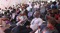Le public du festival international de slam à Bamako
