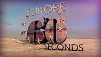 European politics in 60 seconds