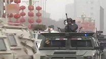 တရုတ်ပြည်က ရှင်ကျန်းမှာ လုံခြုံရေး တိုးမြှင့်