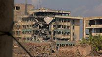 بي بي سي ترصد الدمار الذي لحق بمدينة الموصل