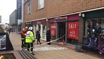 Light fitting blaze closes Ann Summers
