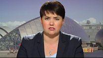 Davidson: 'Most Scots don't want another referendum'