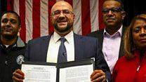 واکنش شهردار مسلمان آمریکا به فرمان مهاجرتی دونالد ترامپ