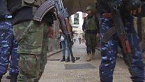 تجدد الاشتباكات في مدينة نابلس خلال عملية أمنية للأجهزة الفلسطينية