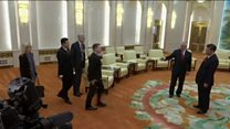 ကိုးရီးယားကျွန်းဆွယ်က တင်းမာမှု
