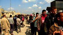 မိုဆူးလ်တိုက်ပွဲကြားက ဒေသခံများ