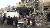 Baghdad market bomb kills at least 20
