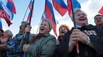 """""""Nuestra alma están Rusia"""": cómo es la vida en Crimea a tres años de su anexión por Moscú"""