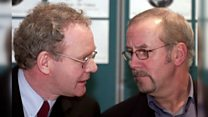 'Not fond of hug from McGuinness'