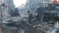 اشتباكات عنيفة بين الجيش السوري والمعارضة على مشارف دمشق